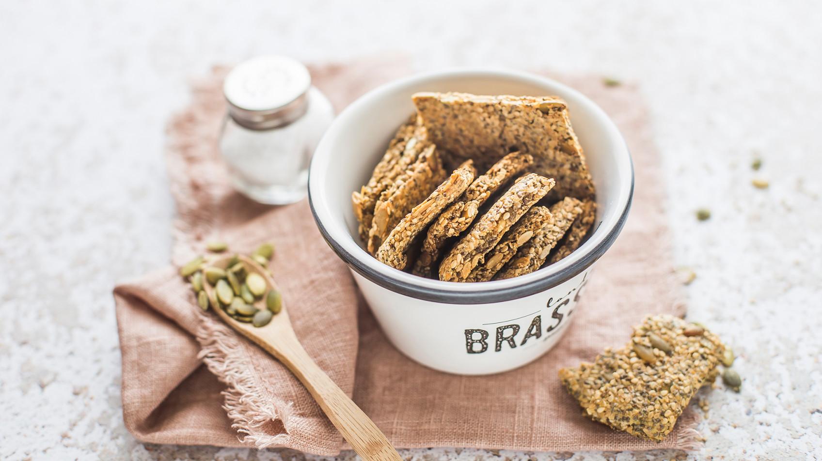 Crackers di semi