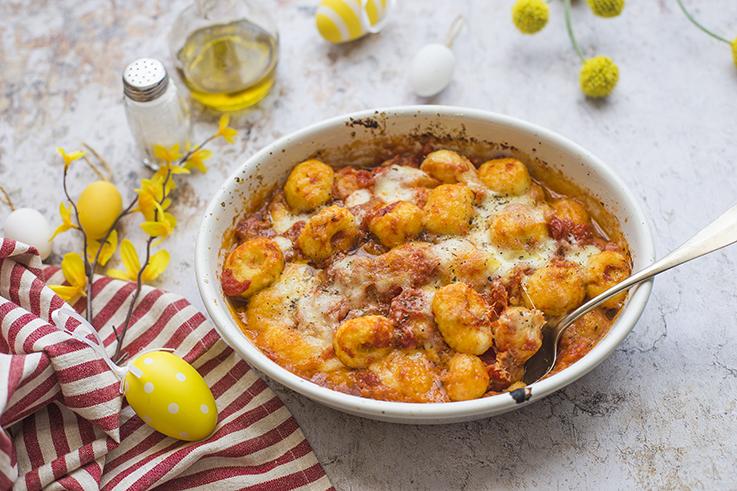 Gnocchi senza glutine con pomodoro e mozzarella