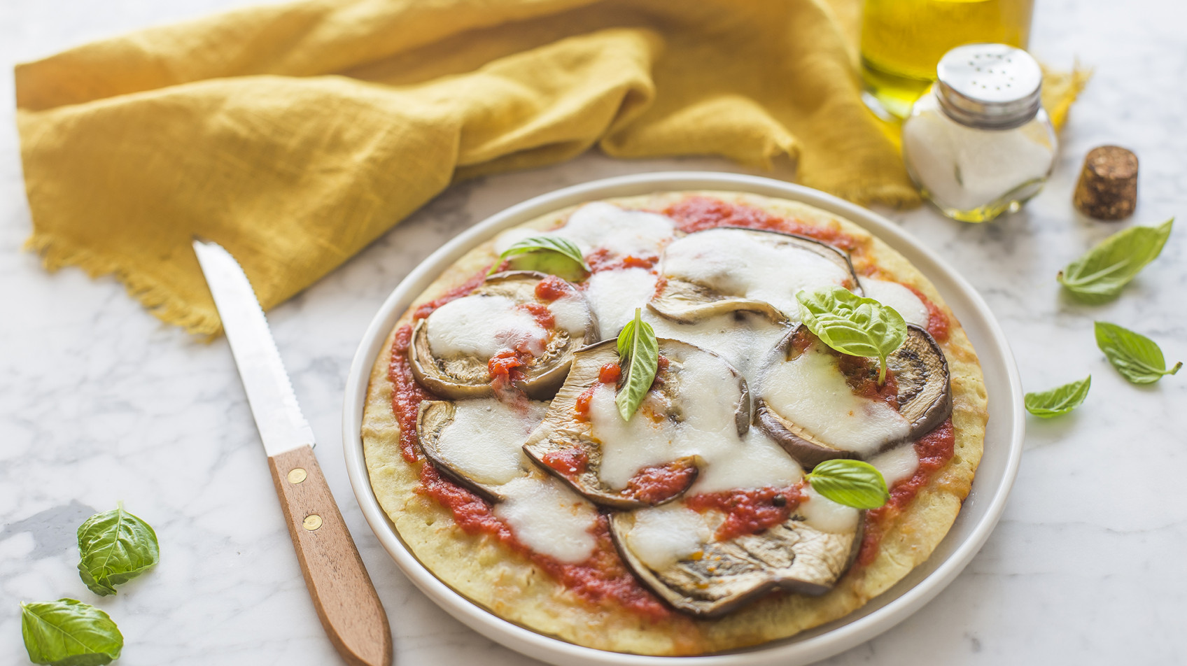 Pizza in padella senza glutine