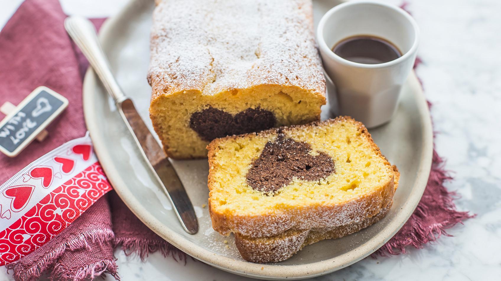 Plumcake senza glutine con sorpresa