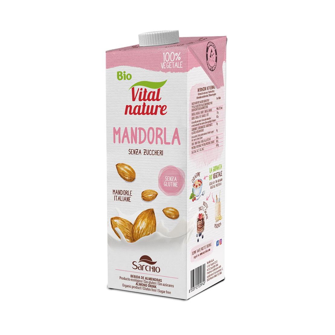 Almond milk drink