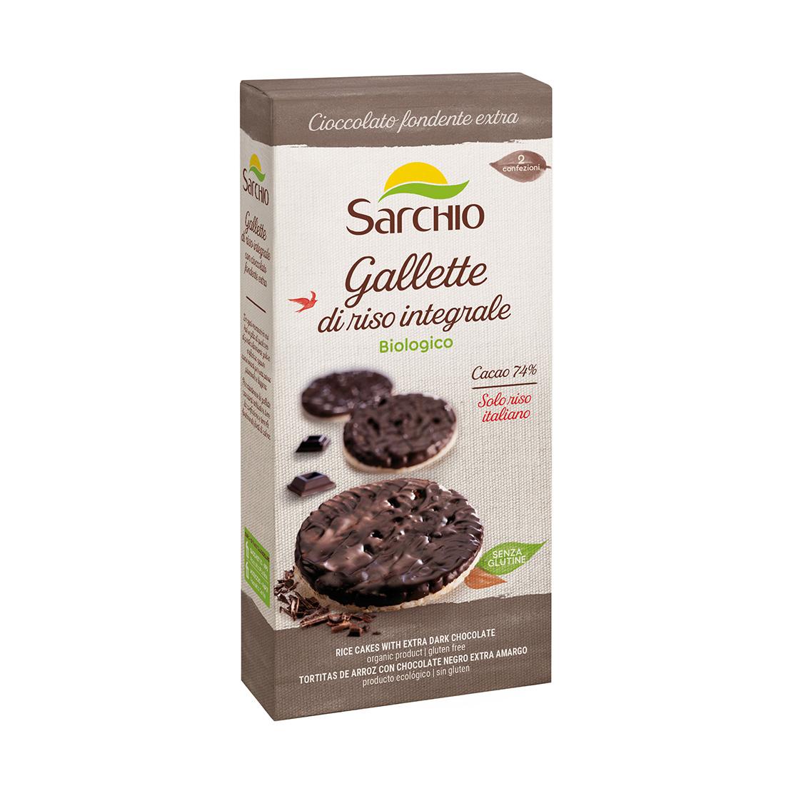Gallette con cioccolato fondente extra