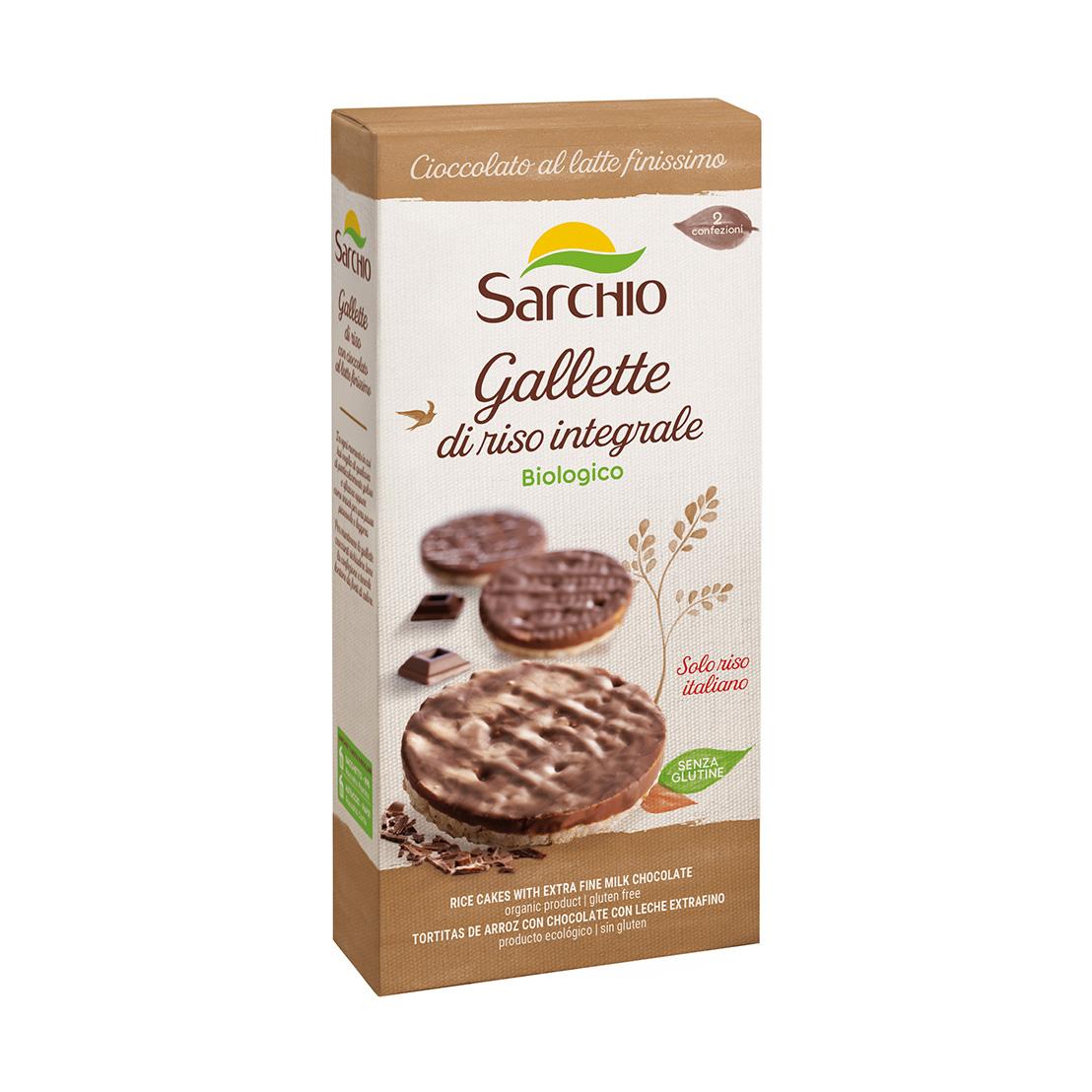 Gallette con cioccolato latte finissimo