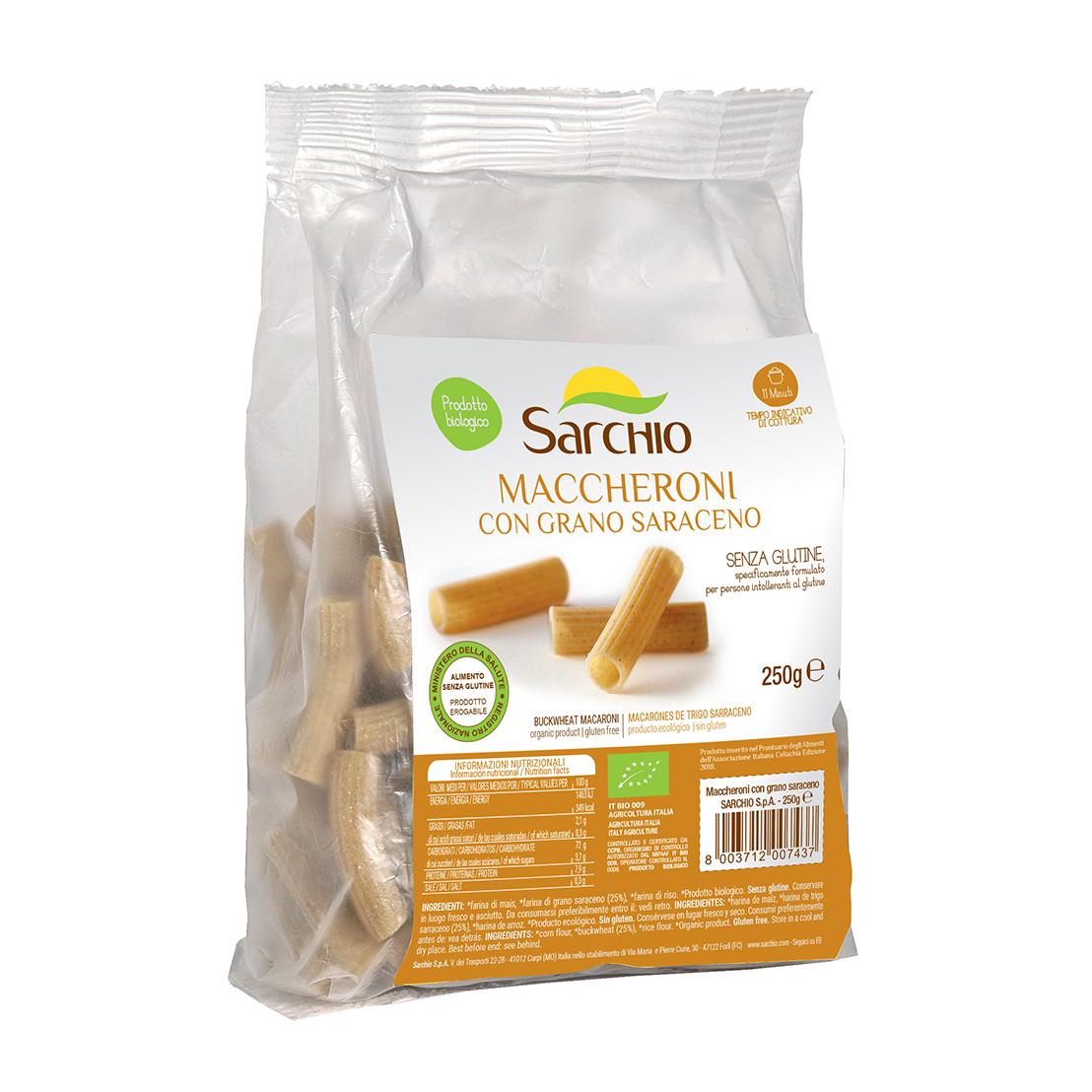 Maccheroni con trigo sarraceno