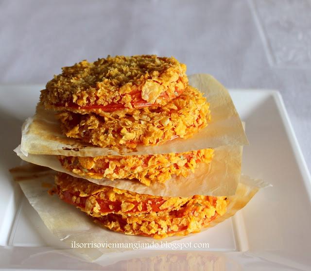 Cotolette di pomodoro croccanti al forno