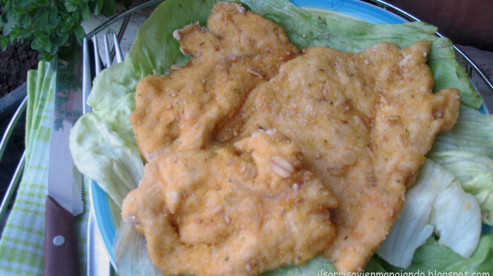 Petto di pollo al forno con panatura ai cereali