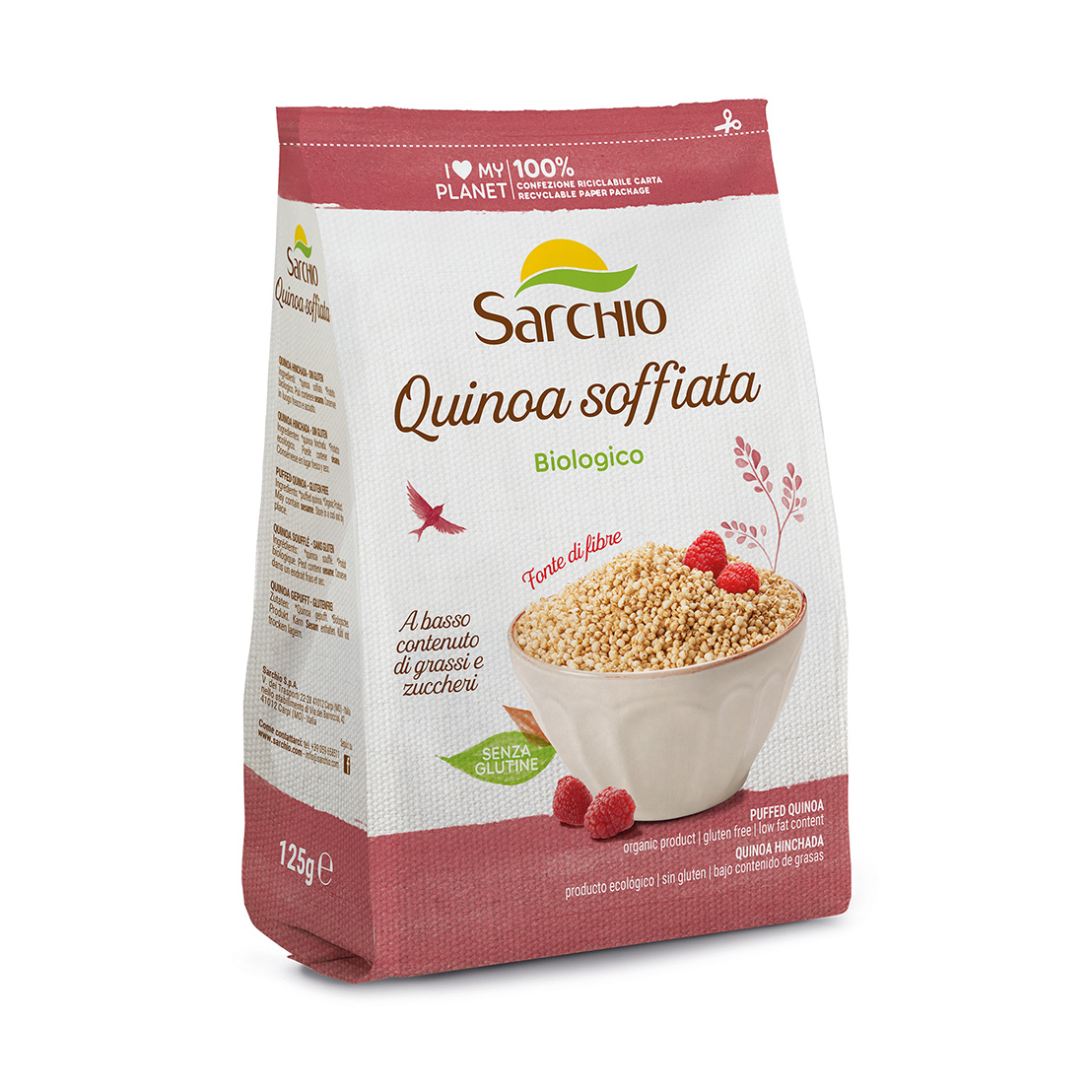 Puffed Quinoa