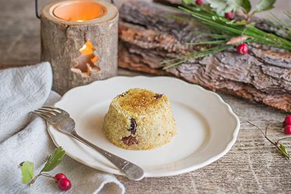 Sformato di quinoa e topinambur
