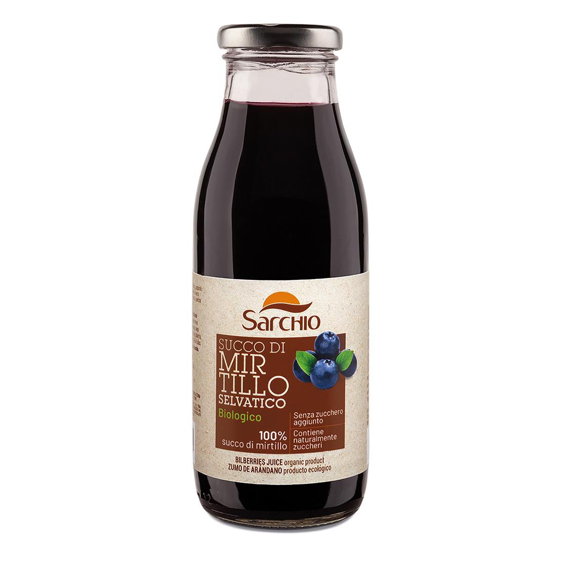 Wild bilberry juice